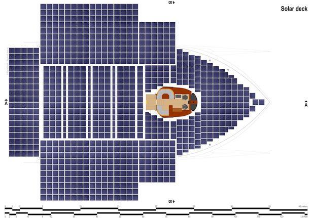 ソーラーパネル船
