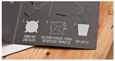 ショットグラスカード
