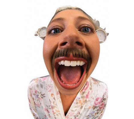 mustache-woman