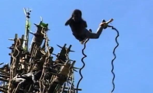 起源 バンジー ジャンプ 地球引力への挑戦