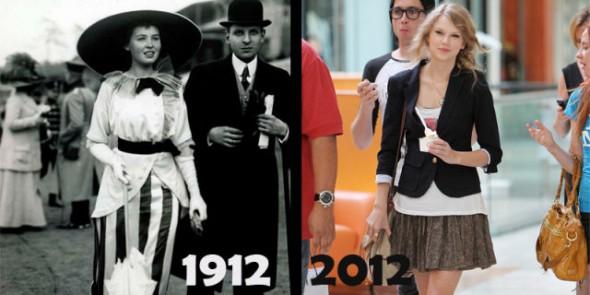 1912年と2012年だけこれだけ違う...