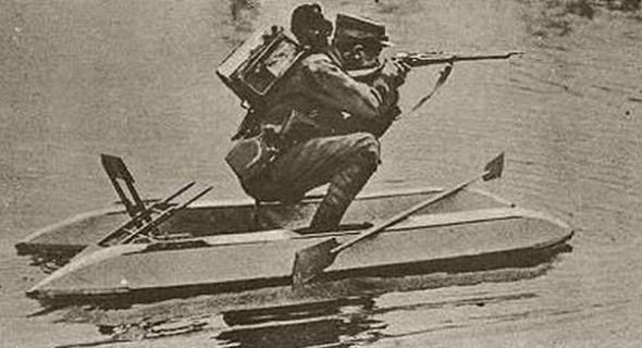 第一次世界大戦で戦場に運用されていた!?第一次世界大戦時代に開発された奇妙な兵器写真42点 |