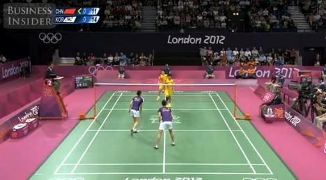 ロンドンオリンピックの中国対韓...